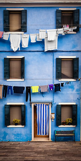 Laundry Day in Burano | by D. Scott Taylor
