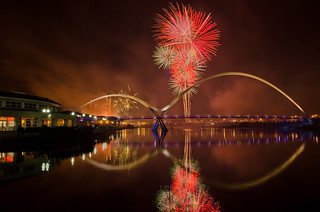 Stockton on Tees Fireworks 2012. | by paul downing