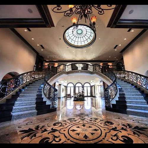 Staircase Stairs Chandelier Marmolfloor Marmol Mans