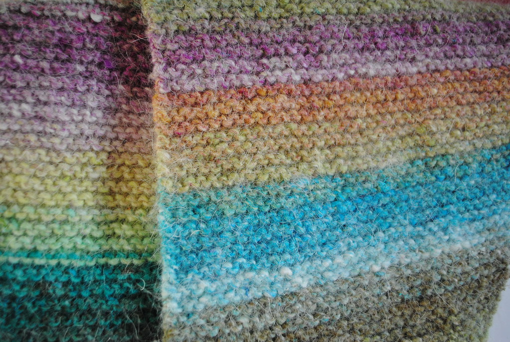 Noro Baktus Scarf Pattern Over Here Ravelrypatte Flickr