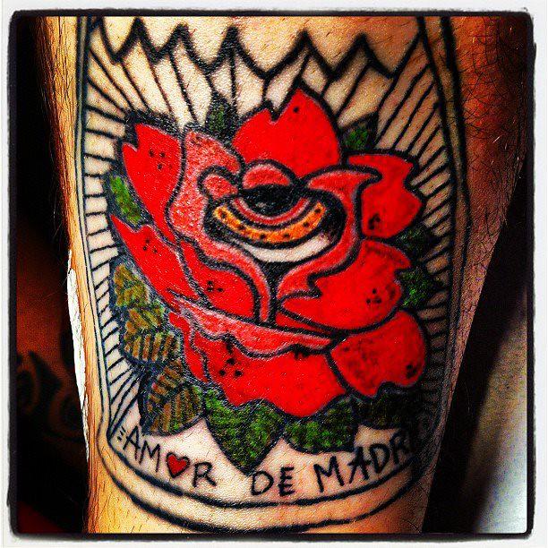 Amor De Madre Tattoo A Sinue Cayooo Flickr