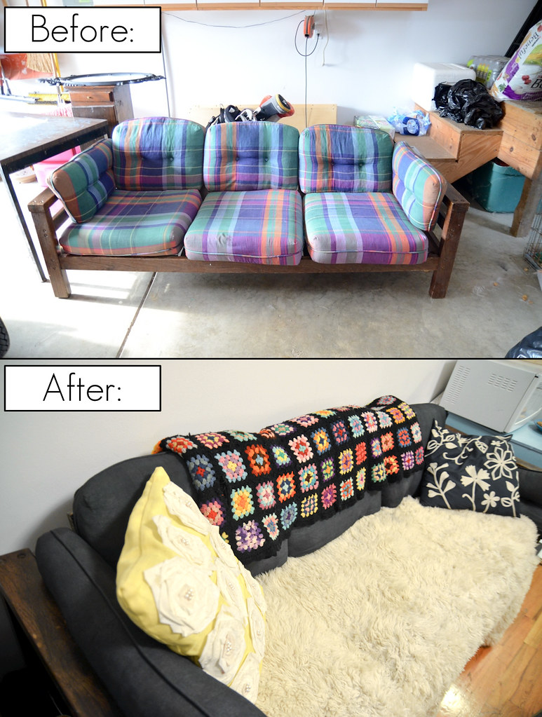 ... DIY Painted Couch - by Stacie Stacie Stacie
