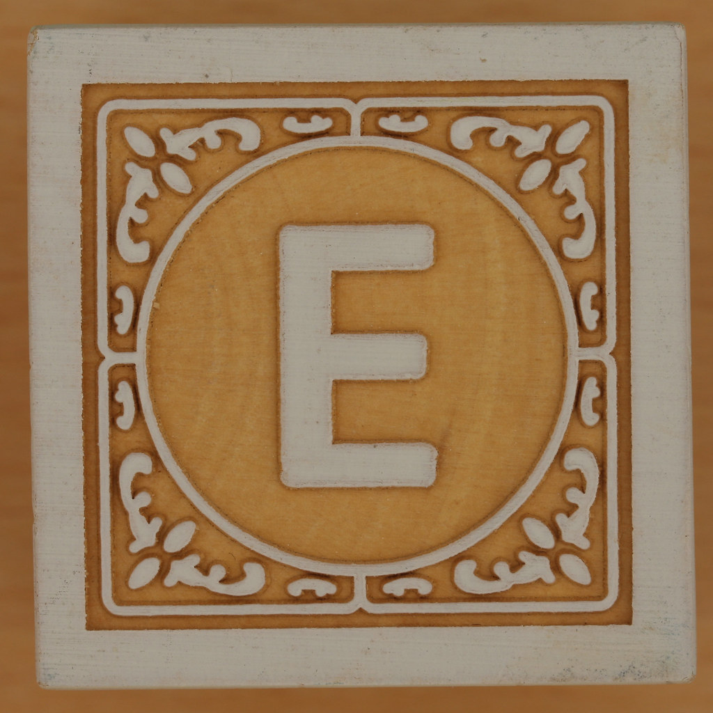 John Crane Classic Block Letter E  Leo Reynolds  Flickr