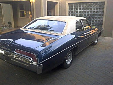RHd 1969 Pontiac Parisienne. | Built from Canadian (Oshawa ...