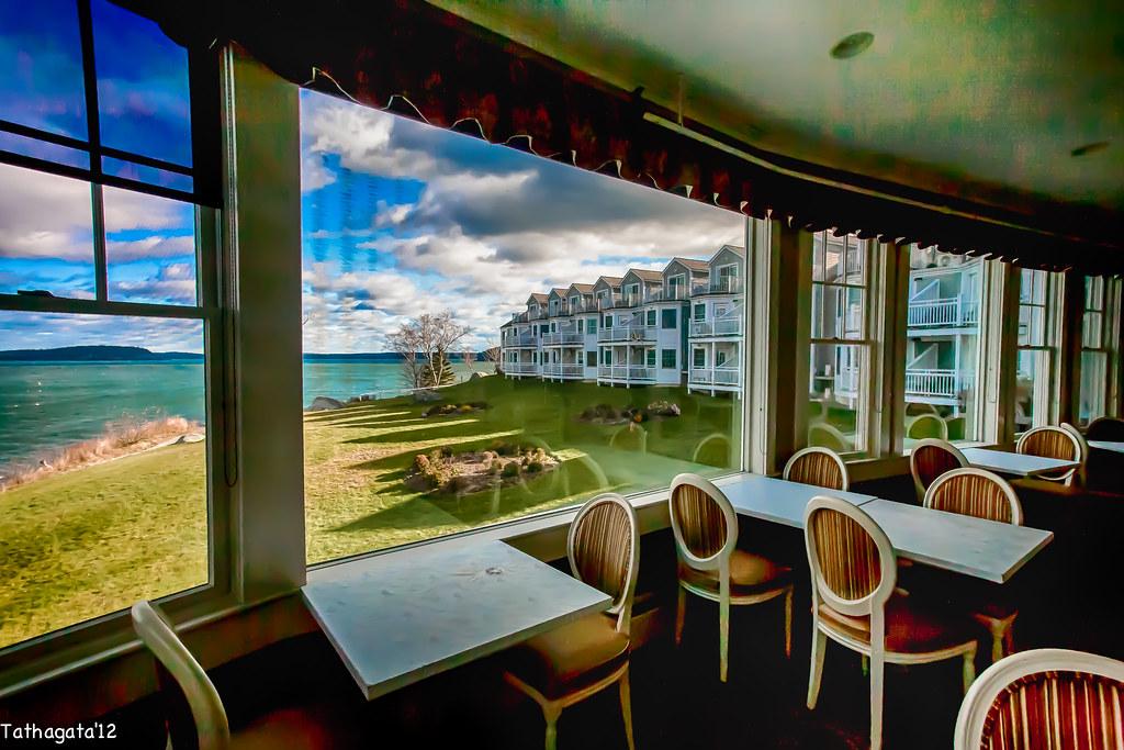 The Reading Room Restaurant At The Bar Harbor Inn Maine Flickr