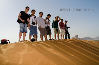 ISO Jubail - the Green Team on the Top of Sand Dunes Riyadh | by i2spot