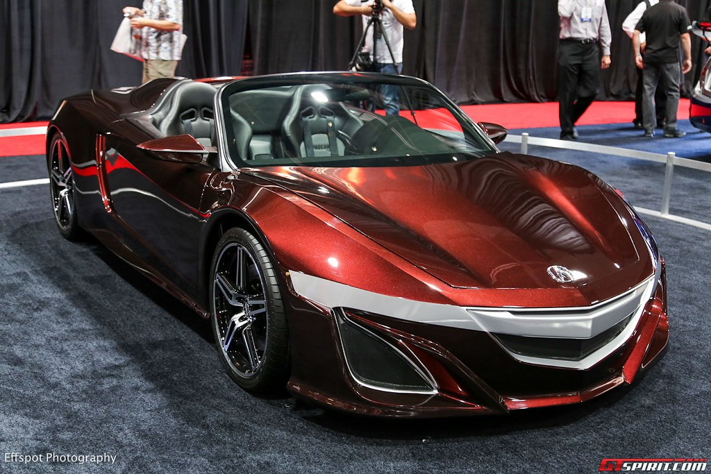 ... Acura NSX Convertible Concept   By 1GrandPooBah