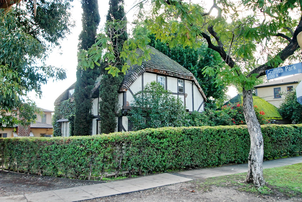 Snow white cottage attributed to ben sherwood flickr for Snow white cottages los angeles