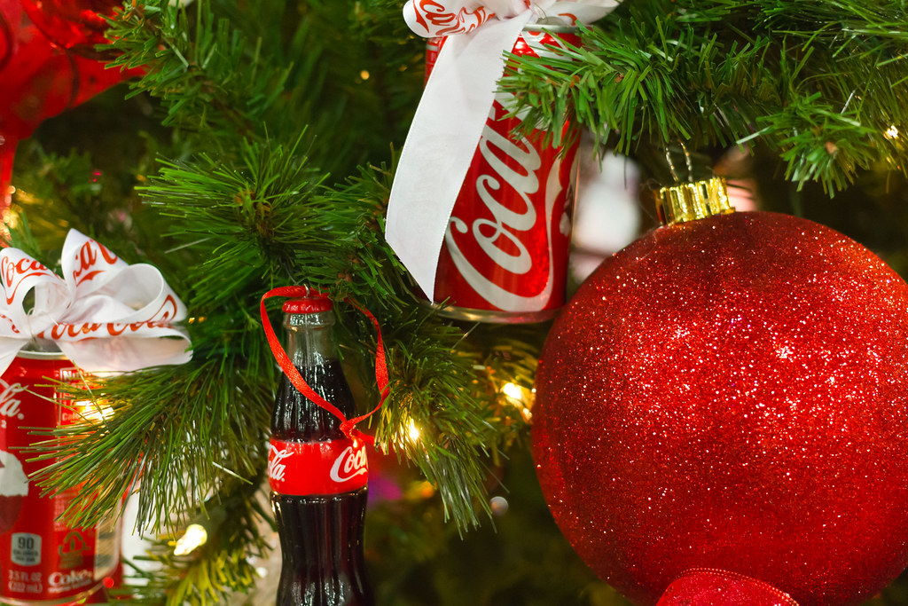 Coke Christmas Tree Decorations | Coca Cola Christmas Tree D… | Flickr