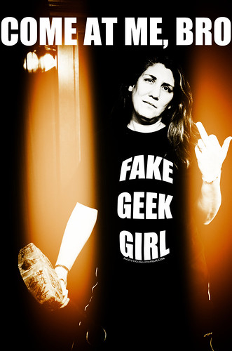 "Kristine Scalzi Address All Those Who Would Address Women as ""Fake Geek Girls"" 