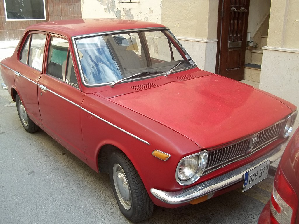 Toyota Corolla Ke10 In Production From 1965 71 This Is A