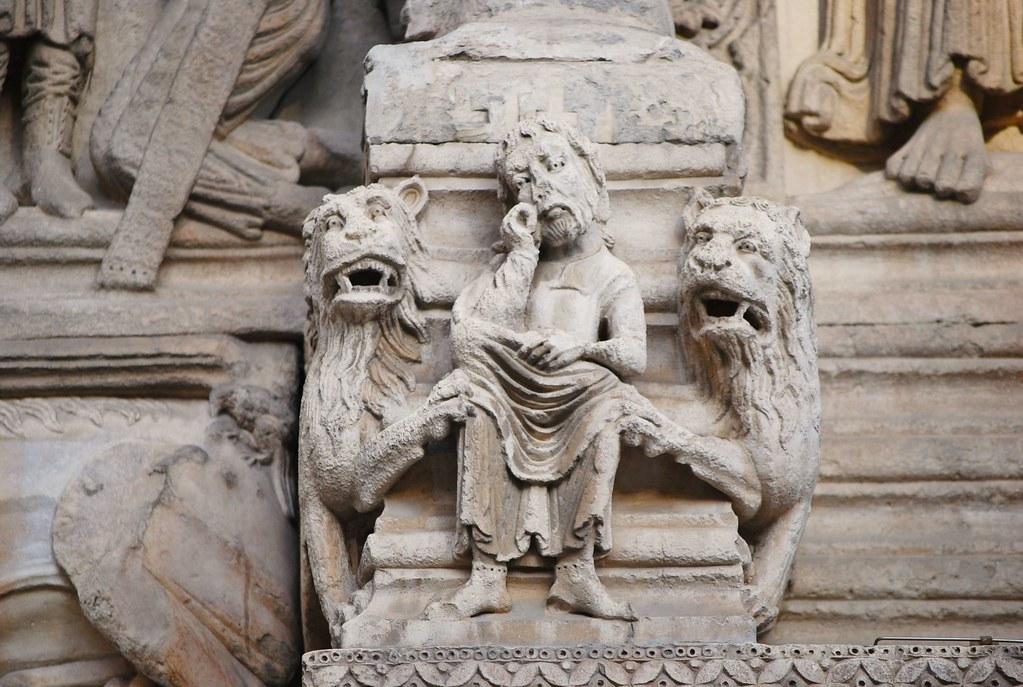 Arles bouches du rh ne st trophime le portail 09 for Bouches du rhones