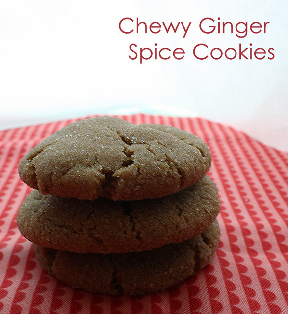 Chewy ginger Cookie | Flickr - Photo Sharing!