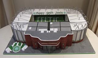 Celtic Football Cake Designs