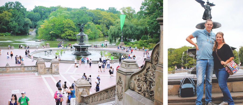 Bethesda Fountain in Central Park, NYC | via It's Travel O'Clock