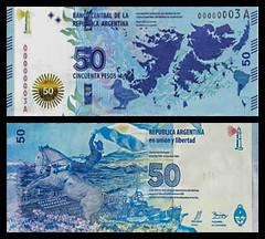 (ARS6a) 2015 Argentina: Banco Central de la República Argentina, Cincuenta Pesos (A/R)...
