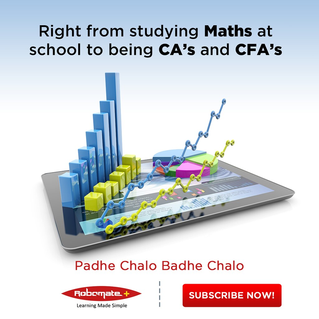 CA - CFA   Right from learning Maths in schools to being CA\'…   Flickr