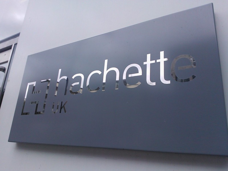 Hachette UK building sign