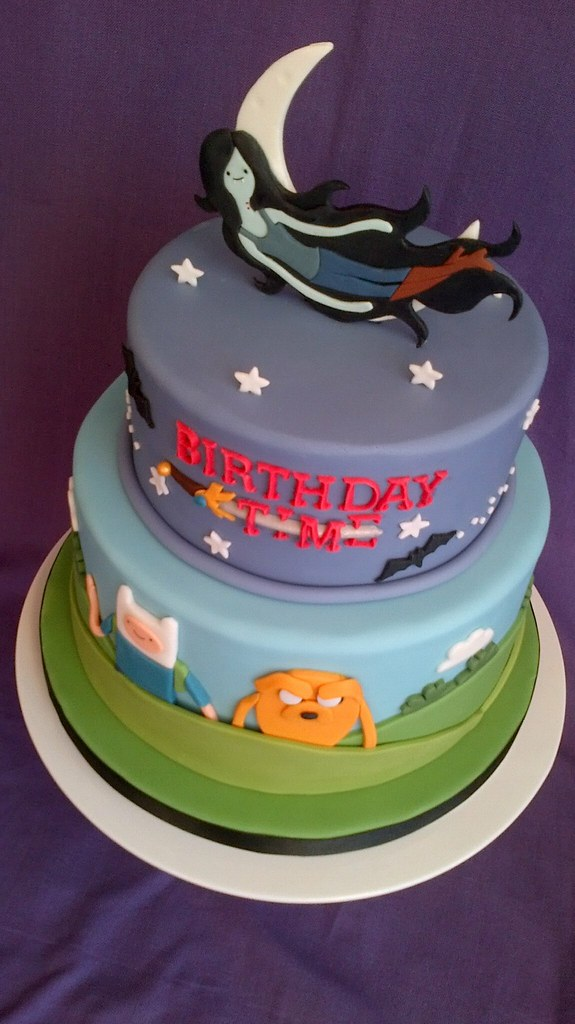 Adventure Time Birthday Cake This Is A 21st Birthday