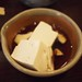Tofu from the nabe