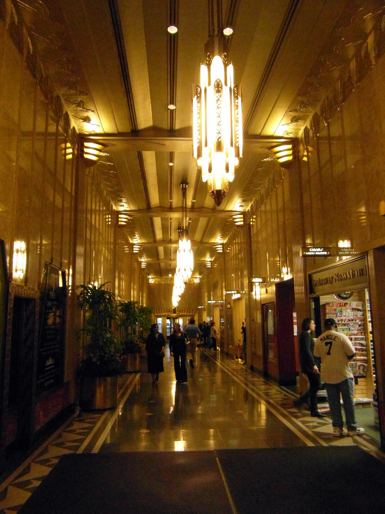 Chanin Building Lobby 122 East 42nd Street New York
