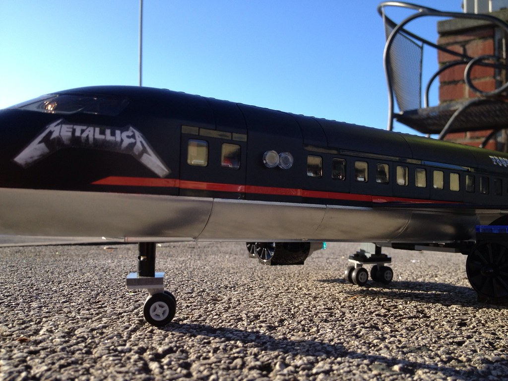 Lego Metallica Tour Plane  I Think I39ve Broken Every Rule I  Flickr