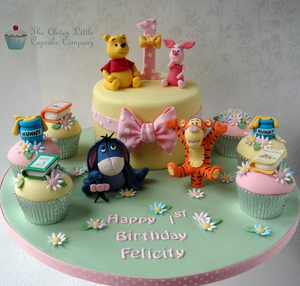 How To Make A Winnie The Pooh Cupcake Cake