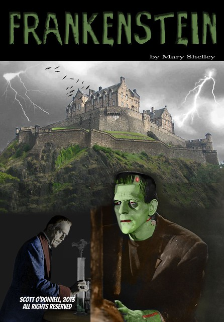 Frankenstein Book Cover Art ~ Frankenstein book cover flickr photo sharing
