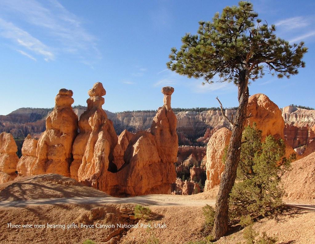 12 December Three Wise Men Bearing Gifts Bryce Canyon N
