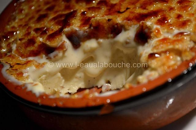 Crème Brûlée Glacée au Pralin & Amaretto  © Ana Luthi  tous droits réservés 024