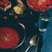 gazpacho de sandia y remolacha