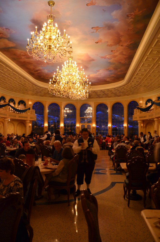 Be our guest the main dining room at the brand new be for 3 dining rooms at be our guest