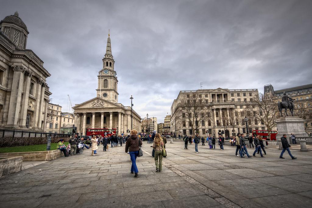 Trafalgar Tours London England