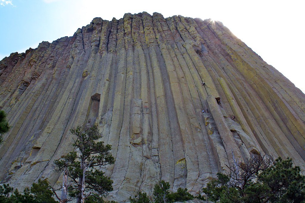 Devils Tower Wy >> Climbing Devils Tower | John J Schroeder | Flickr