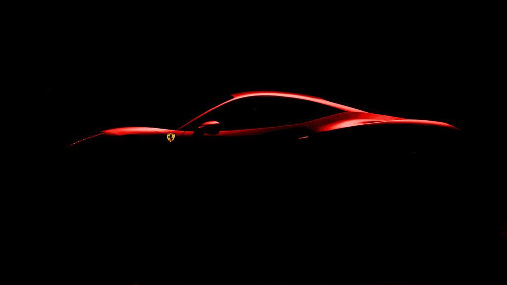 Ferrari 458 Silhouette Colour Beeblebrox237 Flickr