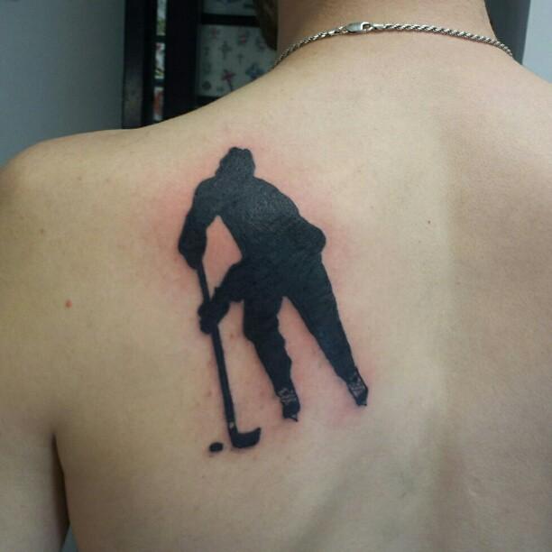 Фото тату на тему хоккея