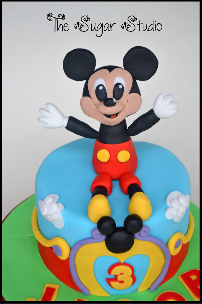 Disney Mickey Mouse Clubhouse Handmade Edible Cake Topper Flickr