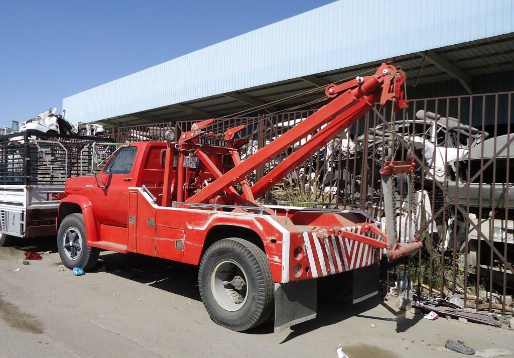 Gmc With Holmes 600 Equipment Seen In Taif Saudi Arabia