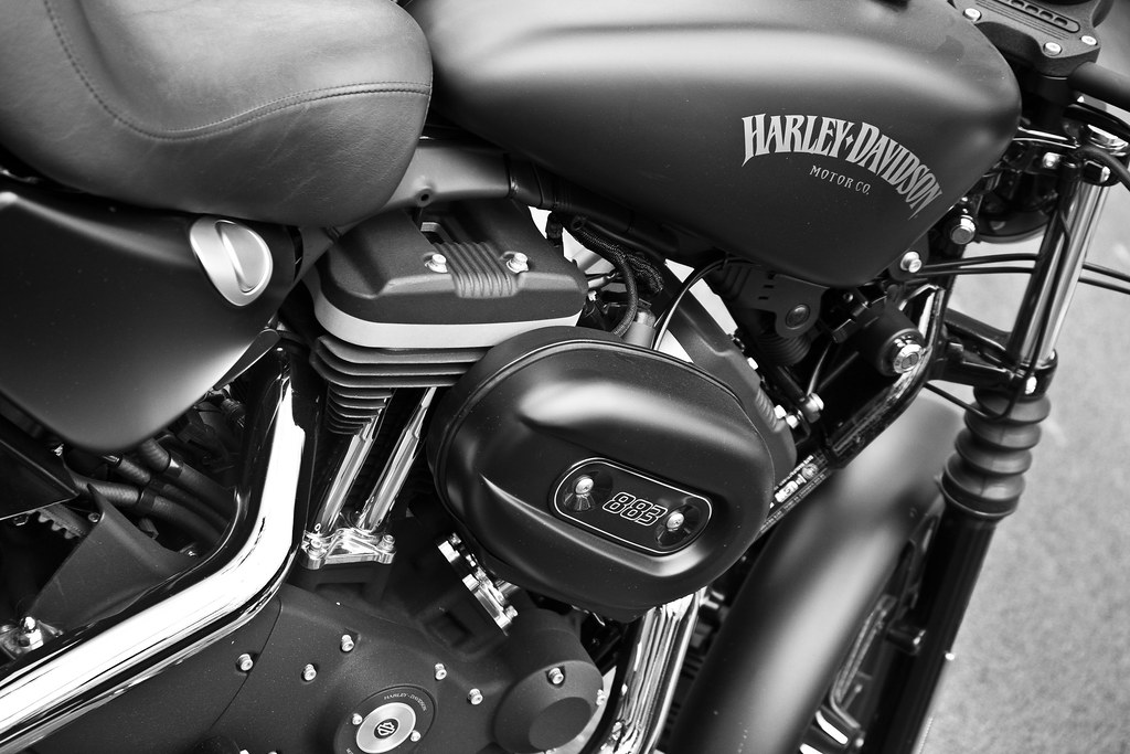 Harley Davidson Sportster Iron 883 Nestor Flickr
