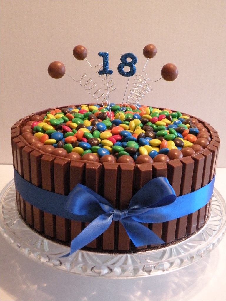 18th Birthday Kit Kat Cake 18th Birthday Kit Kat Cake
