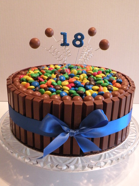 Cake Decorating Ideas For 18 Year Old Boy : 18th Birthday Kit Kat Cake Flickr - Photo Sharing!