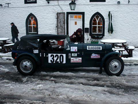 Dumfries Classic Car Hire
