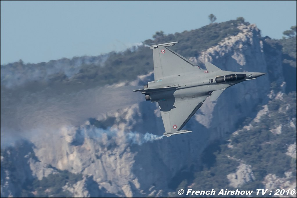 Rafale Solo Display : Toulon Airshow 2016