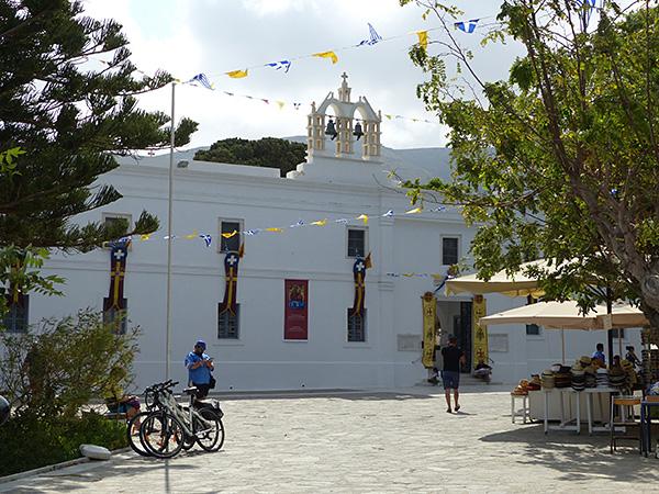 la cathédrale de Paros