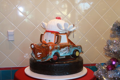 Tow Mater Cake Decorations