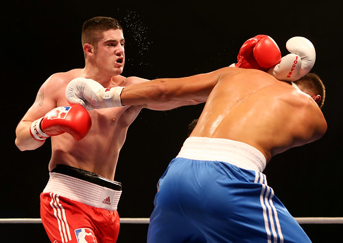 British Lionhearts 4:1 German Eagles | by World Series Boxing
