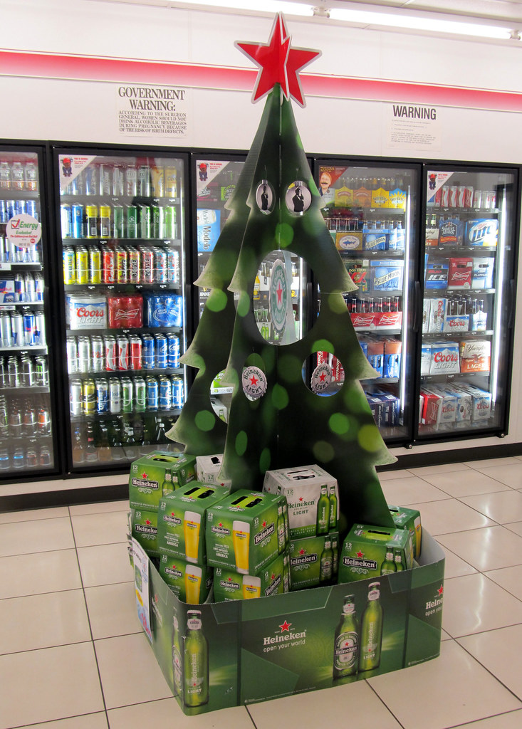heineken tree by sa_steve heineken tree by sa_steve - Is 711 Open On Christmas