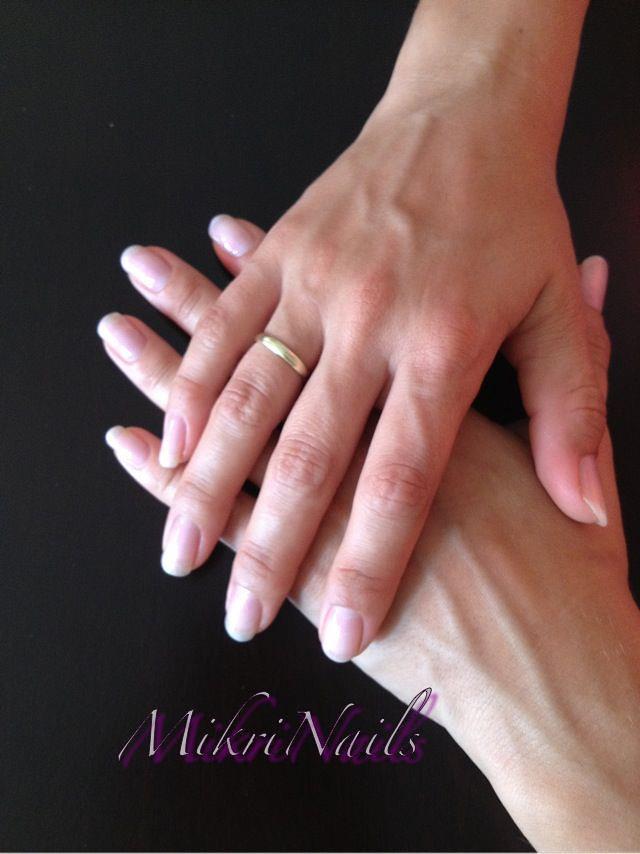 mikrinails mani q sheer pink 102 | sheer pink mani Q color o… | Flickr