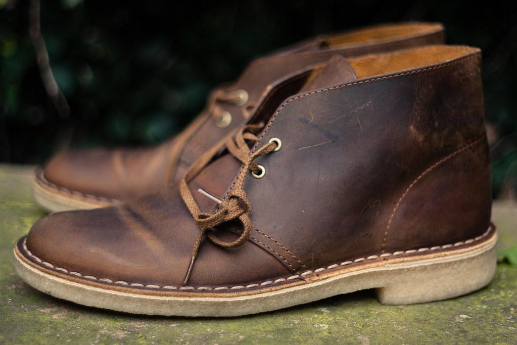 Clarks Originals Desert Boots Beeswax Airjordanjack Flickr