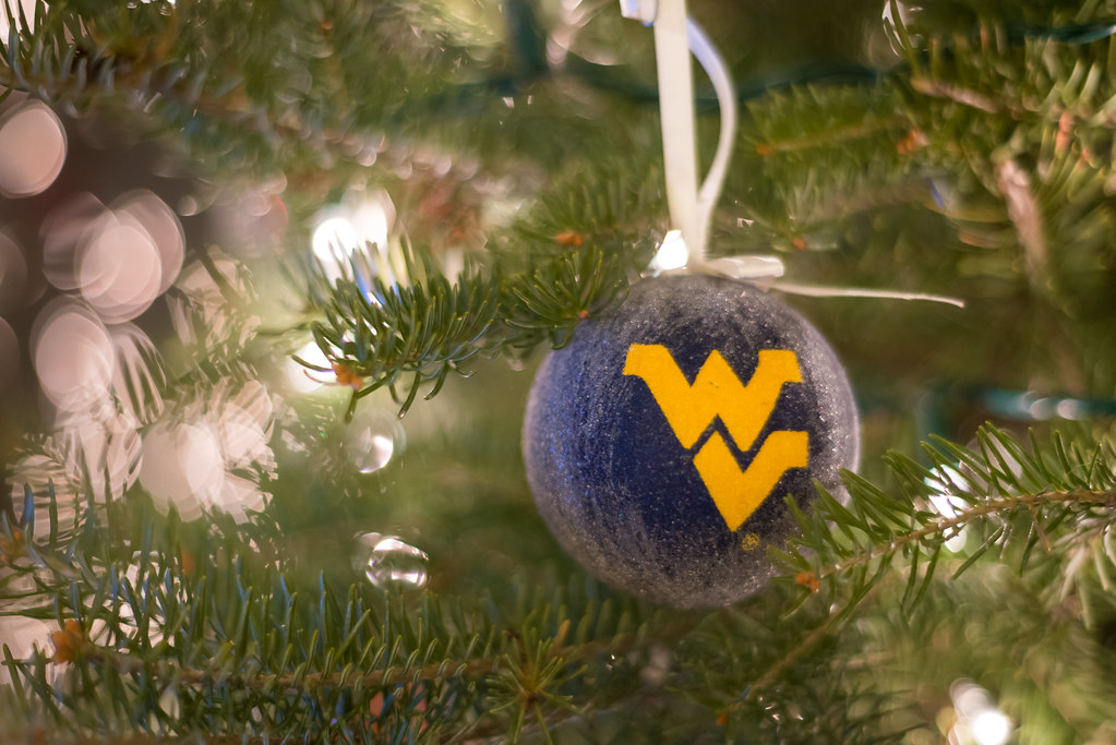 ... West Virginia Mountaineer Christmas Ornament   by Dr_Drill - West Virginia Mountaineer Christmas Ornament WVU Christmas… Flickr
